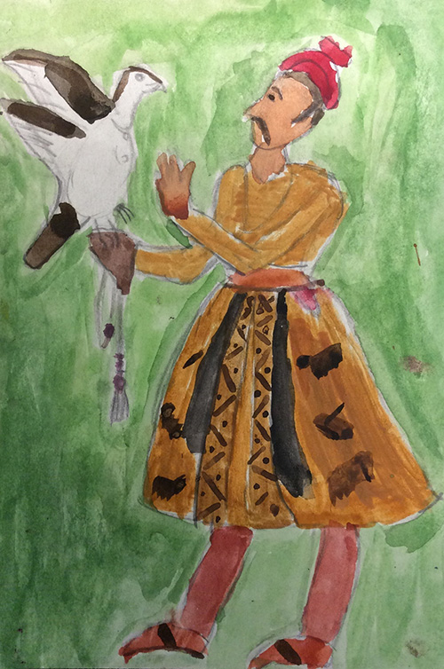 6th Grade Artists Make Masterful Mughal Miniatures