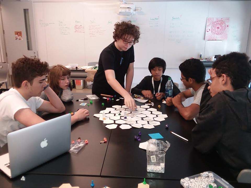 Game Design During Fifth Term