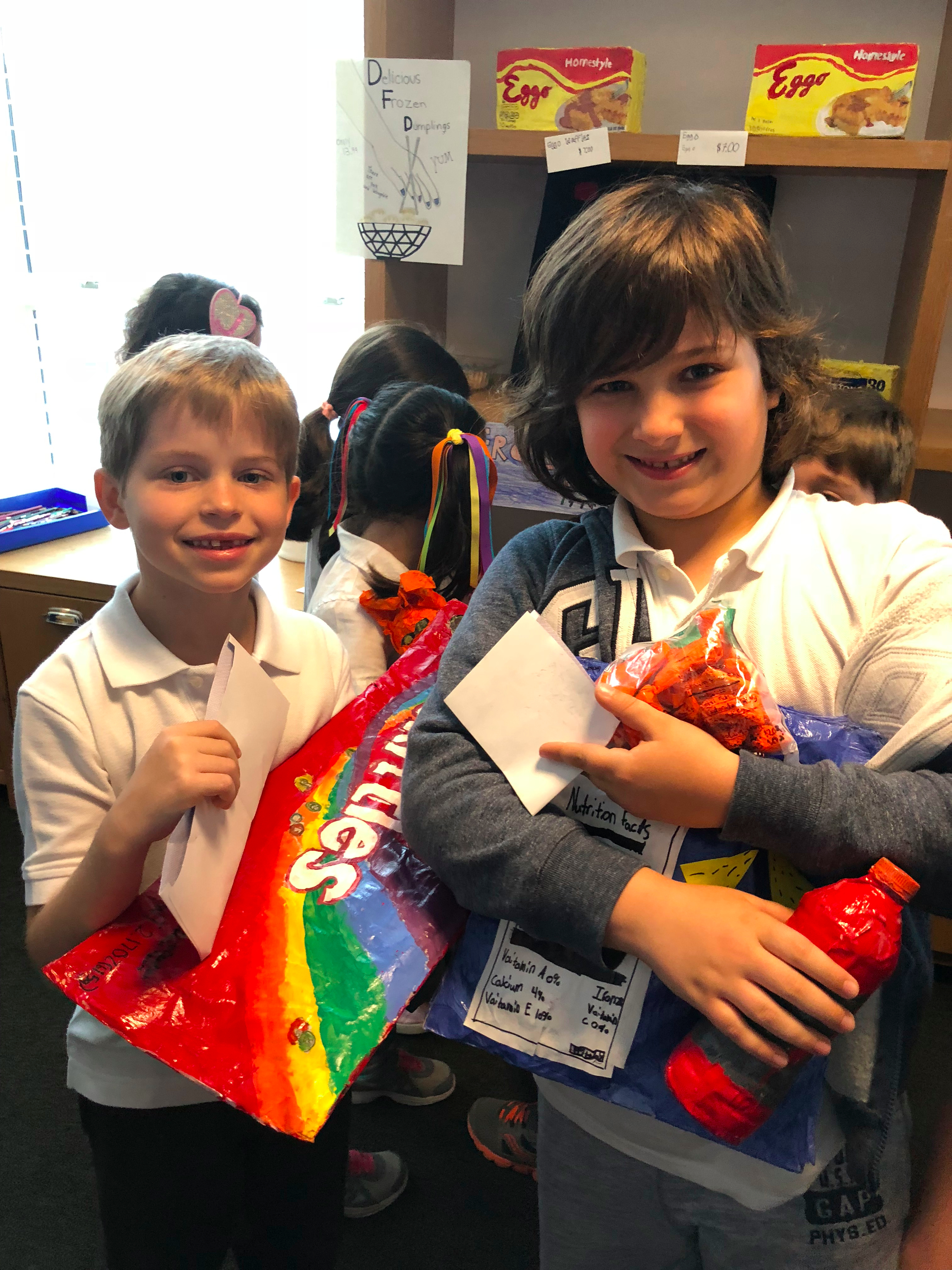 5th Graders Create Their Own Supermarket