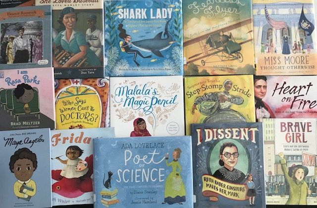 Celebrate Women's History Month with these Great Books!